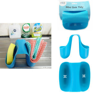 Sink-Tidy-Holder-Sponge-Organiser-Caddy-Drainer-Kitchen-Brush-Storage-Washing