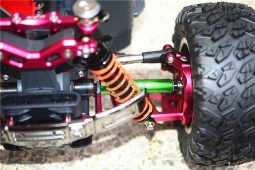 Aluminium Front Or Rear CVD Drive Shaft GPM Racing Steel Green : Big Rock 2