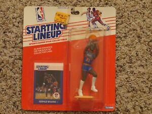 1988 Gerald Wilkins New York Knicks Starting Lineup basketball rookie