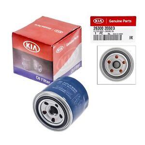 Genuine OEM 26300-35503 Oil Filter For Kia Rio Optima Soul Forte ...