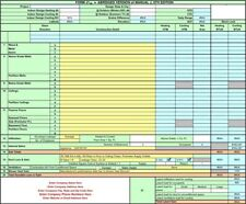 Acca Mj8ae Hvac Residential Load Calculation Excel Spreadsheet Cd Rom