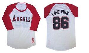 c8fc53d320a 1 x VICTORIA SECRET PINK NEW YORK YANKEES LOS ANGELES ANGELS 3 4 ...