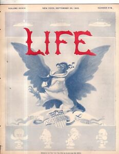 1899-Life-September-28-Dreyfus-again-found-guilty-Pulitzer-and-Hearst-Dewey