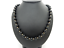 Vintage-14K-Yellow-Gold-8mm-Black-Onyx-Ball-w-Gold-Spacers-Filigree-Necklace-24-034 thumbnail 1