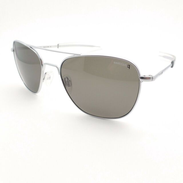 957e1521b0 Randolph Engineering Intruder Skull 58mm Matte Black Gray Sunglasses