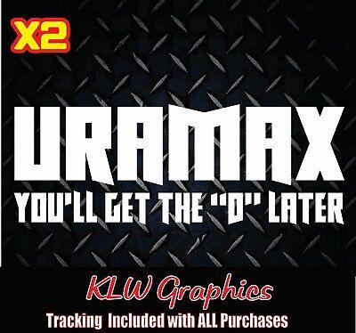 Duramax Diesel Truck Vinyl Bumper Sticker Decal Funny 2500