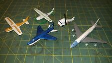 Vintage Diecast Aircraft lot Matchbox Plane Helicopter Road Champ Air Force One