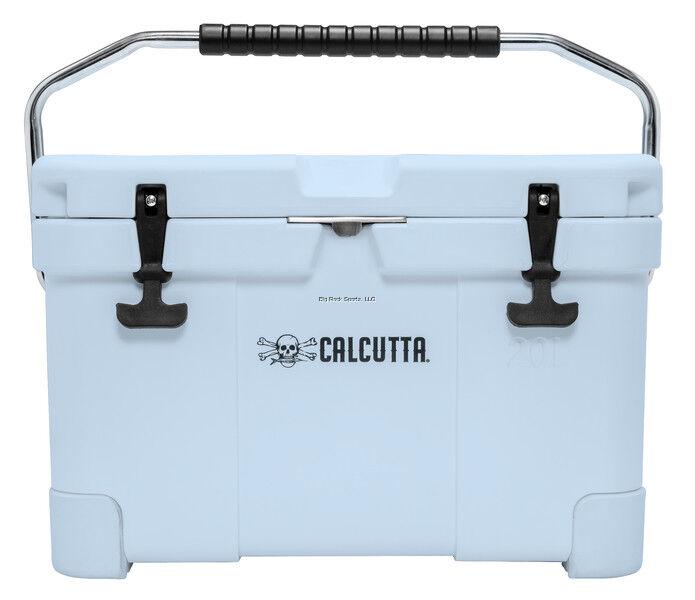 Calcutta Renegade 20L Cooler with Drain Plug Light in Light bluee