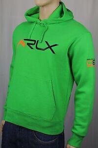 Polo Ralph Lauren Green RLX Hoodie Pullover Sweatshirt NWT