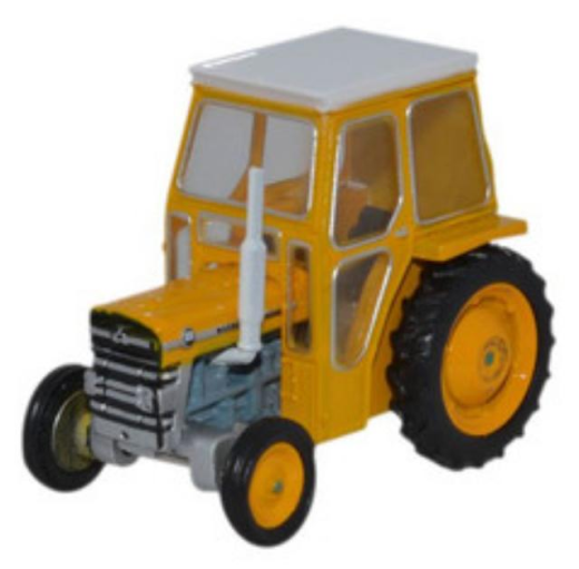 Oxford Diecast 1:76 Scale Massey Ferguson 135 In Yellow 76mf002 176 Oo Gauge