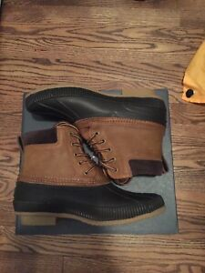 bd4b6aaf00632 Image is loading Mens-Tommy-Hilfiger-Casey-Duck-Boots-size-US-