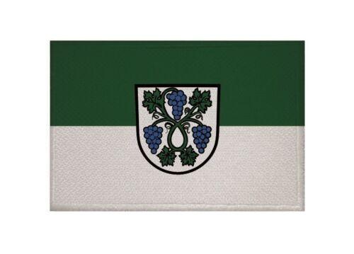 Ricamate Dossenheim bandiera bandiera aufbügler Patch 9 x 6 cm