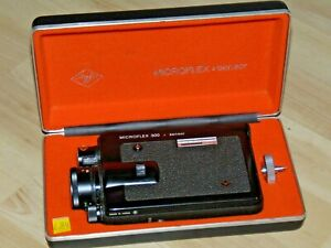 Agfa Microflex 300 Sensor Super 8 Filmkamera Lens Objektiv Agfa Movaron 1,9/8-32
