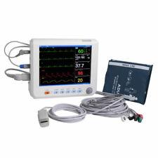 Patient Monitor Vital Signs Ecg Nibp Resp Temp Spo2 Pr Meter 8 Medical Machine