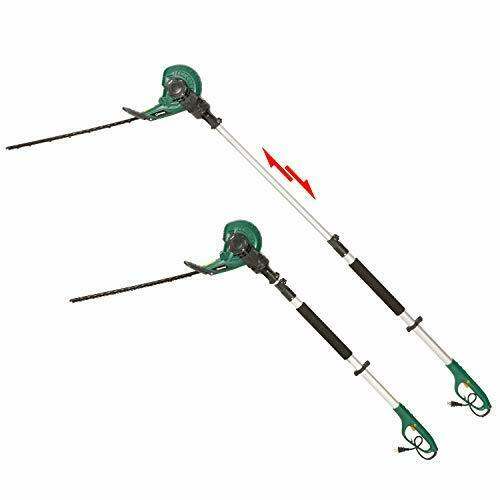 Details about Multi-Angle Electric Hedge Trimmer on Telescopic Pole with  18