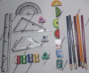 Eraser Ruler Sharpener Wallet London Souvenir School Kits Pencil Home School