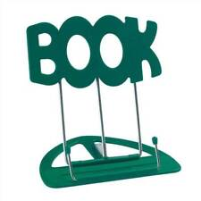 The 'BOOK' Stand Book Holder Green