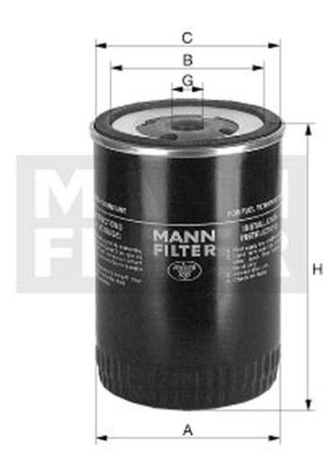 Kraftstofffilter MANN-FILTER WK 950//3