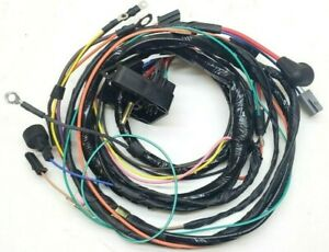 engine starter wiring harness 1972 camaro gauges manual transmission ss z28  402 | ebay  ebay