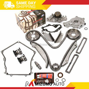 Timing-Chain-Kit-Water-Oil-Pump-Timing-Cover-Gasket-Fit-00-04-Dodge-Chrysler-2-7