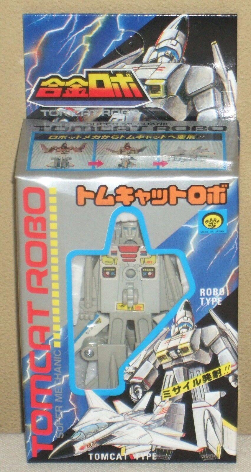 Tomcat Robo F-14 Transformers 7.8cm 3.1  Chogokin Figures Dolls Mark Unused Mint
