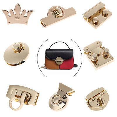 Sara-u Metal Heart Clasp Buckles Turn Lock Twist Locks For Handbag Bag Purse Craft DIY