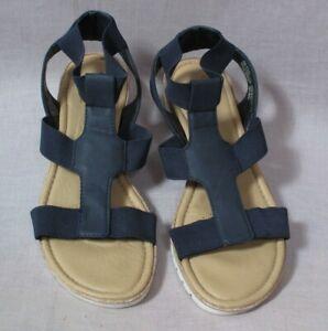 Croft \u0026 Barrow Ortholite Sandals Blue