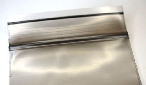 100 Stück ZIP PE Beutel 55x65mm 90µ schwarz BLACK LINE Schnellverschlußbeutel