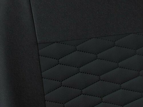 CAR SEAT COVERS full set fit Vauxhall Calibra leatherette Eco leather black