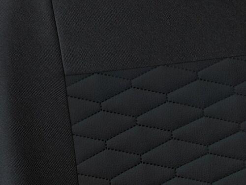 leatherette Eco leather black CAR SEAT COVERS full set fit Hyundai Tucson
