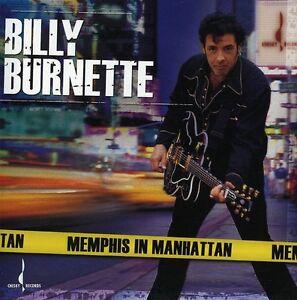 Billy Burnette - Memphis in Manhattan [New CD]