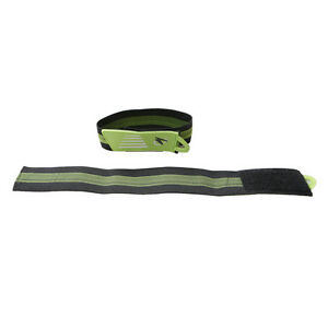 2x-Green-Bike-Bicycle-Ankle-Leg-Bind-Bandage-Trousers-Pant-Bands-Clips-Strap