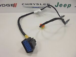 2013 dodge dart new front seat back wiring harness right side ...  ebay