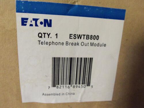 New Eaton Telephone Breakout Module ESWTB800