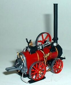 Foster-SS-Portable-Steam-Engine-1907-On-G169-UNPAINTED-OO-Scale-Model-Kit-Metal