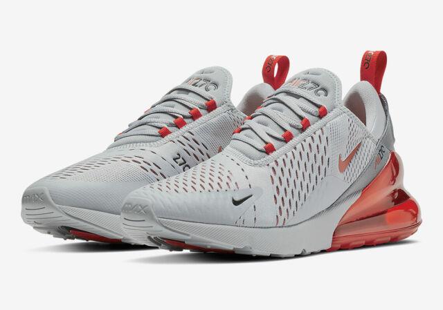 das Neueste Herren Nike Air Max 270 Turnschuhe Wolf Grau Rot