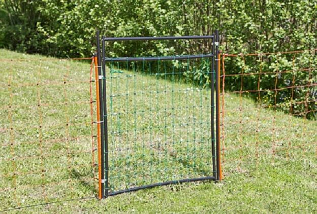 Door for Electric Fence from 95 - 125 Cm Sheep Net Turkey Meadow Gate Netztor