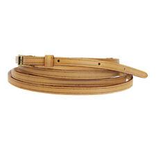 Louis Vuitton Leather Brown Shoulder Strap