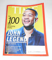 Time Magazine May 1 8 2017 100 Most Influential People John Legend Double Issue