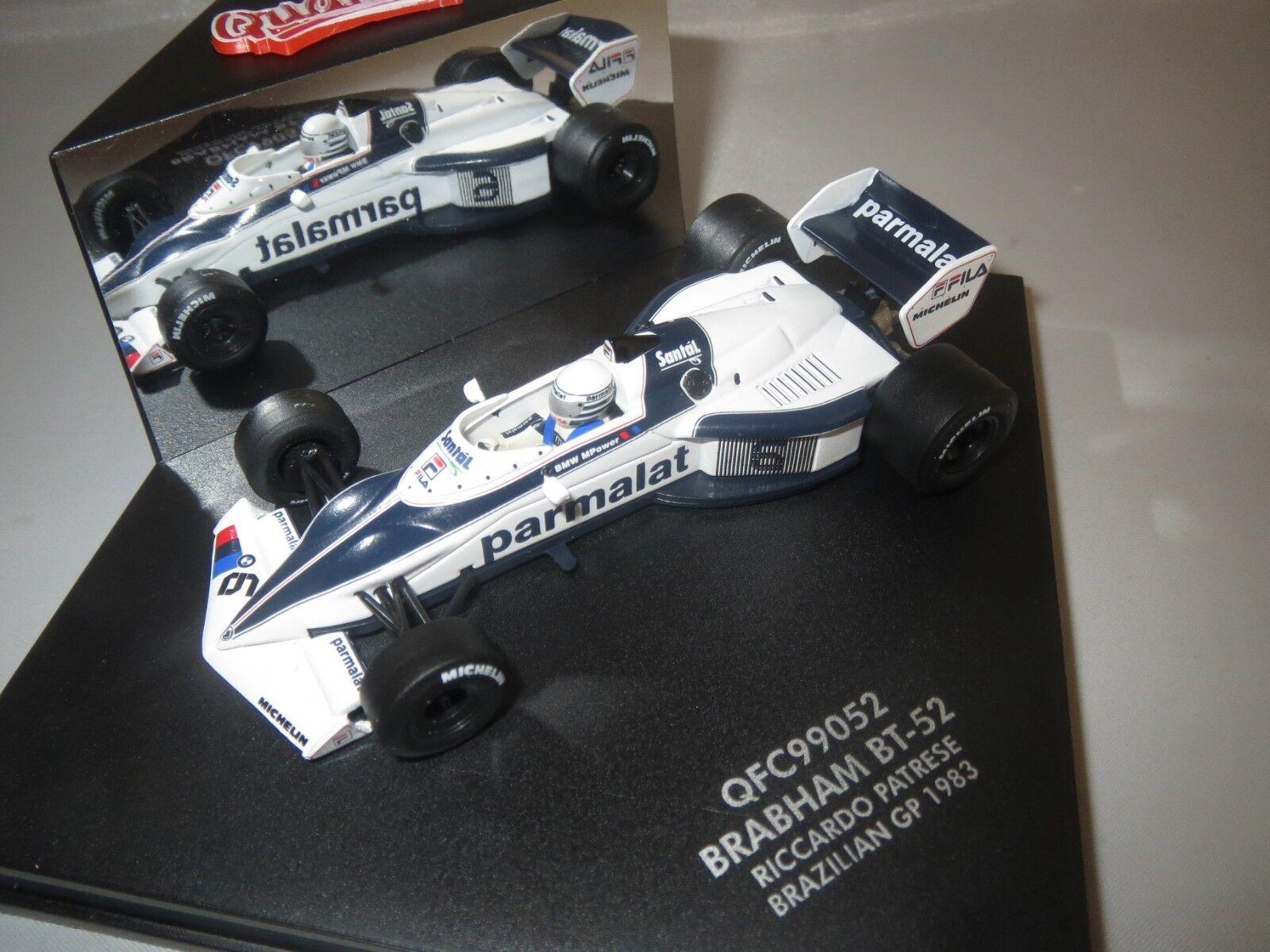 Vitesse quartzo qfc99052 Braham bt-52 Patrese) (R. Patrese) bt-52 Brazilian GP  6  1983  1 43 3d05a1