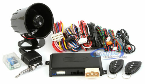 Encore E6 Remote Start Car Alarm Vehicle Security System with ASK Technology