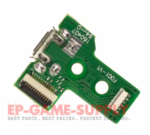 USB Charging Port Socket Board 12 Pin For JDS-030 Sony PS4 Dualshock Controller