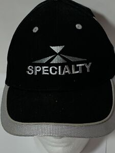 Image is loading Specialty-Baseball-Hat-Cap-BLACK 8fb916c7e90