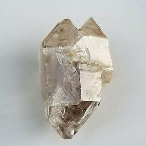 Natural DT Himalayan Herkimer Diamond Quartz, Rare Unique Shape,  US Seller