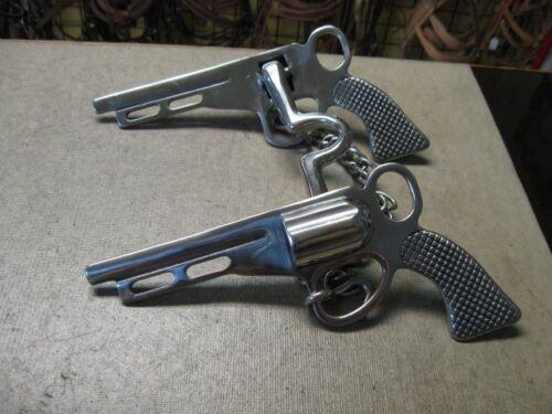 Nouveau utilisé Horse Tack pistolet gun Bit cheval Roping Trail Riding barils Show