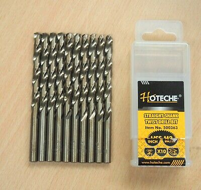 Lot of 20 1//8 M2 HSS Double End Drill Bits Full Grounded