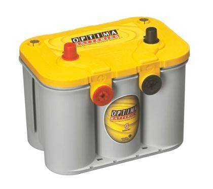 YTU4.2 AGM High Performance Battery Yellow Top Optima