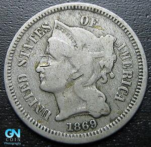 1869-3-Cent-Nickel-Piece-MAKE-US-AN-OFFER-R8741