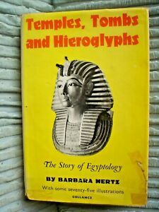 OLD BOOK PHOTOS ILLUSTRATED EGYPTIAN TEMPLES TOMBS & HIEROGLYPHS 345 PAGES PICS