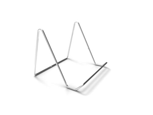 Portable Wire Easel Tabletop Wire Easel Chrome Plated Metal Stand Book CD Stand